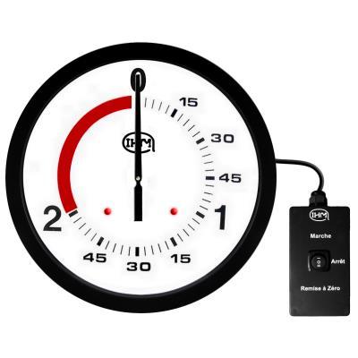 Horloge boxe française 2 1 mn –  Ø 600mm – Filaire