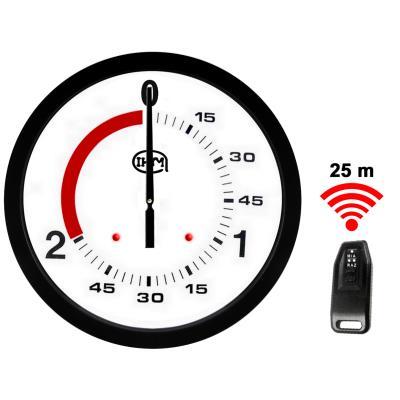 Horloge boxe française 2 1 mn –  Ø 600mm – Télécommande