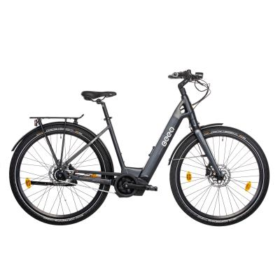 vélo de ville électrique beeq e800 cadre bas noir