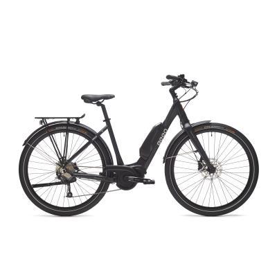 vélo de ville électrique beeq c500 cadre bas noir