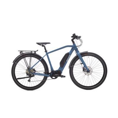 vélo tout chemin électrique beeq c500 trekking bleu
