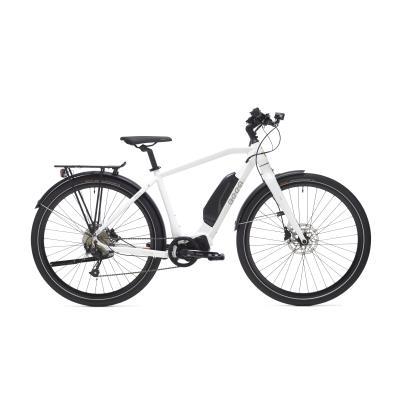 vélo tout chemin électrique beeq c500 trekking blanc