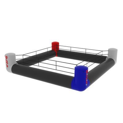 ring de boxe gonflable 4x4 m intérieur