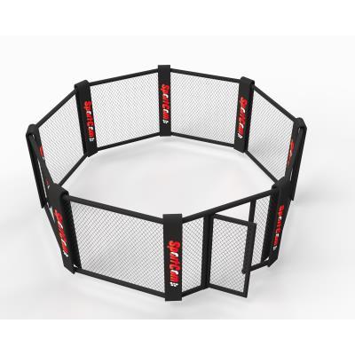 CAGE DE MMA AU SOL 4M