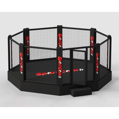 CAGE DE MMA SUR PODIUM 40CM 6M