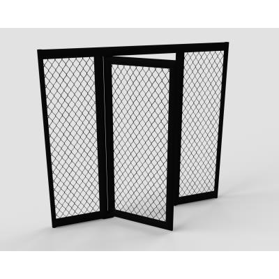 panneaux cage mma 2,08m avec porte