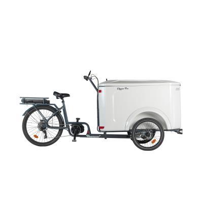vélo cargo triporteur clipper électrique pro