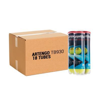 Balles de tennis en gros compétition TB930 (4 x 18 tubes) .