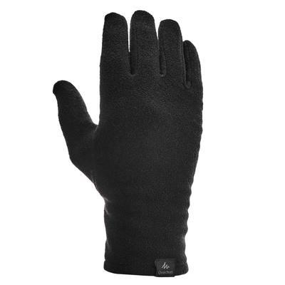 Sous - gant trekking montagne TREK 100 polaire adulte noir