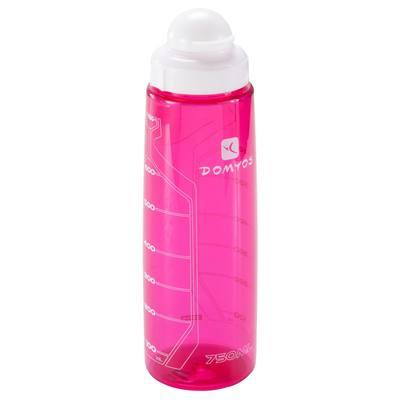 Bidon fitness 750 ml rose