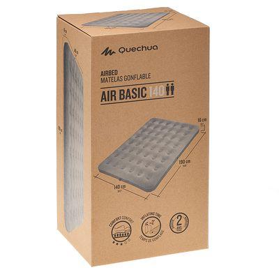 Matelas gonflable de CAMPING / CAMP DU RANDONNEUR AIR BASIC 140 | 2 pers. gris