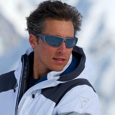 Lunettes de soleil ski & montagne adulte IWATE grises polarisantes catégorie 3