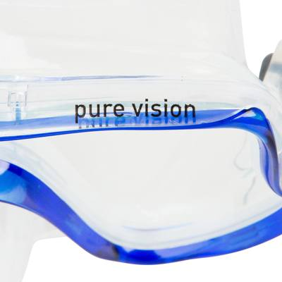 Masque de plongée Pure Vision bleu