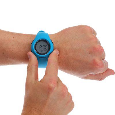 Montre sport homme W200 M timer bleu