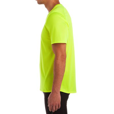 TEE SHIRT RUNNING HOMME RUN DRY JAUNE
