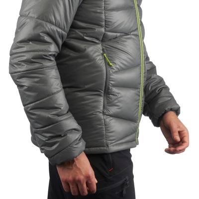 Doudoune randonnée homme X-Light 2 gris