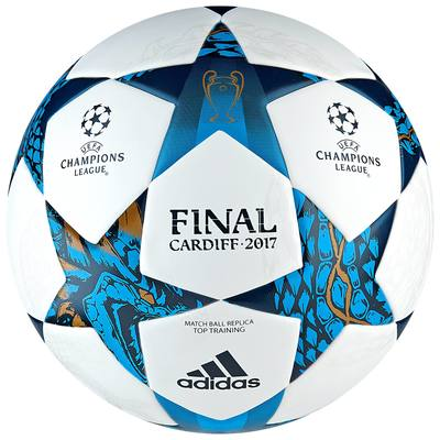Ballon football UCL Top Training blanc