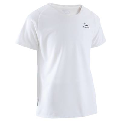 TEE SHIRT RUNNING ENFANT RUN DRY BLANC