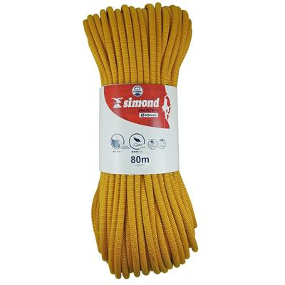 Corde d'escalade ROCK+ 10mm x 80m  JAUNE
