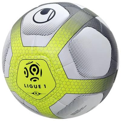 Elysia Replica ballon Ligue 1 blanc marine jaune taille 5