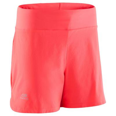 SHORT JOGGING FEMME RUN DRY CORAIL FLUO - Clubs   Collectivités ... dbe7d315ae5