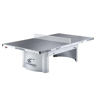 TABLE DE TENNIS DE TABLE PRO 510 OUTDOOR CORNILLEAU GRISE