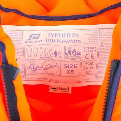 GILET DE SÉCURITÉ ENFANT PLASTIMO TYPHON 100N