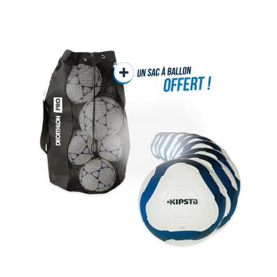 Lot de 10 ballons football F300 T5 avec sac offert