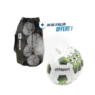 kit 10 ballons rugby rebell tri concept taille 5