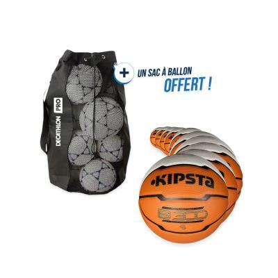 kit 10 ballons basket b300 taille 5 avec sac offert