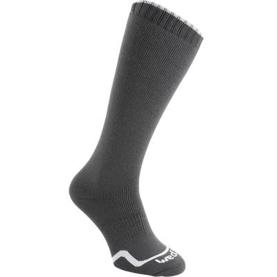 CHAUSSETTES DE SKI ADULTE FIRSTHEAT GRISES