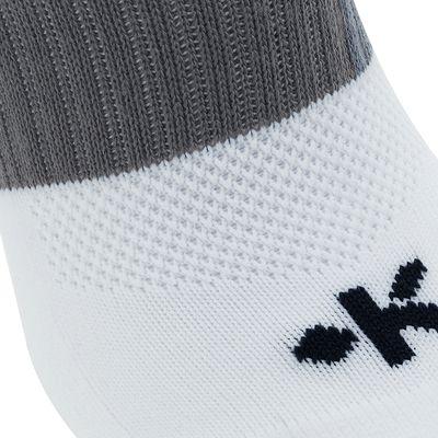 Chaussettes hautes de football adulte F500 blanches