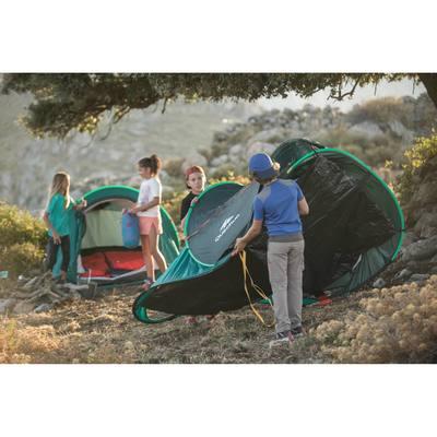 Sac de couchage enfant de camping   / camp du randonneur ARPENAZ 20° orange
