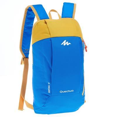 sac à dos de randonnée pour la journée Arpenaz 10L bleu/jaune