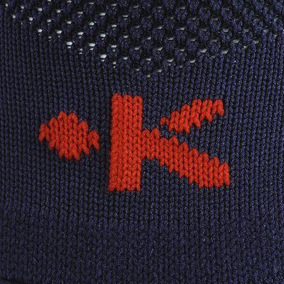 Chaussettes hautes football adulte F 500 bleu marine