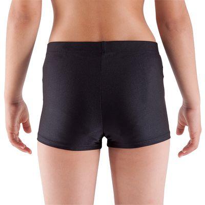 Shorty Gymnastique Fille (GAF et GR) noir.