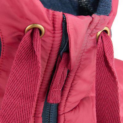 Pull randonnée femme Arpenaz Hybrid marine rose