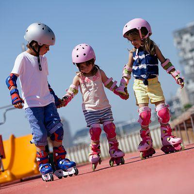 roller enfant PLAY 3 rose violet