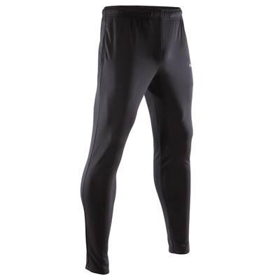 Pantalon d'entraînement de football adulte T100 noir