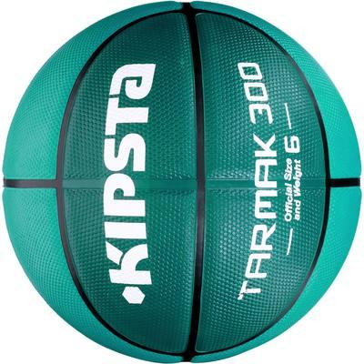 Ballon Basketball Tarmak 300 taille 6 turquoise