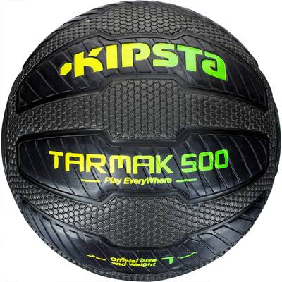 Ballon de Basketball adulte Tarmak 500 Magic Jam taille 7 noir
