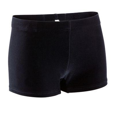 Shorty Gymnastique Féminine (GAF et GR) velours noir