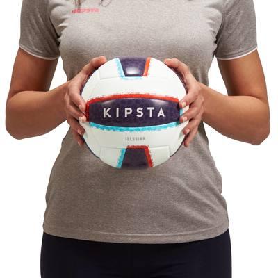 Ballon de beach-volley extérieur  Rio Illusion blanc
