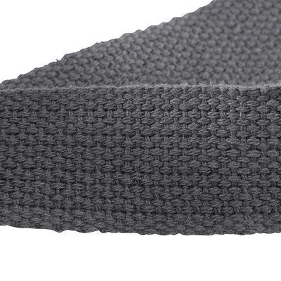 Sangle yoga en coton gris foncé