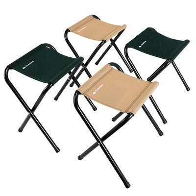 Mobilier camping table 4 personnes avec 4 sièges vert