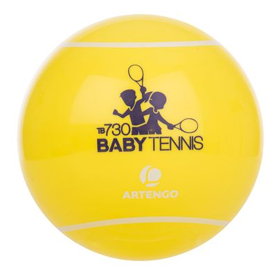 BALLE DE BABY  TENNIS TB 730 JAUNE