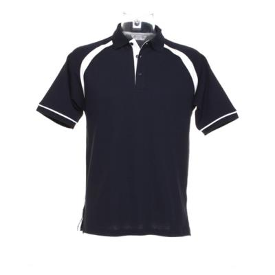 POLO MIXTE BICOLORE COTON