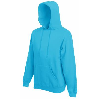 SWEAT CAPUCHE BLEU AZURE