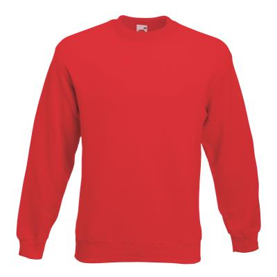 SWEAT SHIRT ADULTE MIXTE ROUGE