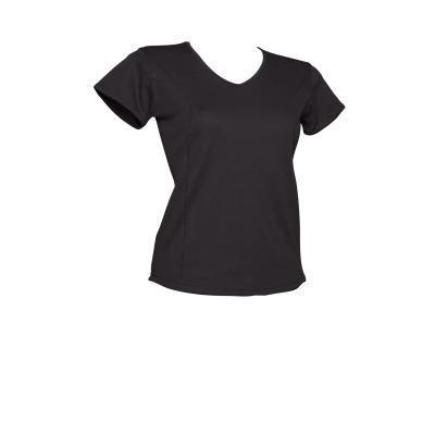 T shirt running femme respirant noir